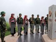 Lao Cai et Yunnan (Chine) effectuent des patrouilles communes