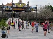 Plus d'un million de touristes étrangers à l'ancienne cité impériale de Hue en 2015