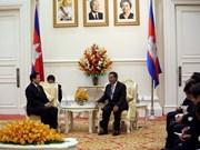 Des dirigeants thaîlandais et cambodgien se rencontrent à Phnom Penh