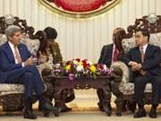 Les Etats-Unis et le Laos approfondissent leur coopération