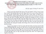 Protestation contre les attaques taïwanaises de bateaux de pêche vietnamiens