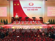 Communiqué de presse de la séance de clôture du 12e Congrès national du PCV
