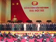 Visioconférence pour communiquer les résultats du 12e Congrès du Parti