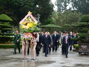 Le président Truong Tân Sang se rend à Hà Tinh et Nghê An