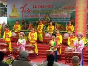 Ouverture de la fête printanière Ngoa Vân et inauguration de la pagode éponyme