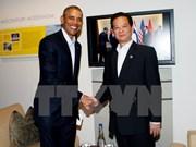 Sommet ASEAN-Etats-Unis : entrevue Nguyen Tan Dung-Barack Obama