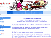 Amélioration du site tiengvietonline.com.vn