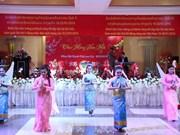 Les Viet kieu au Laos se félicitent du succès des Congrès nationaux des deux pays