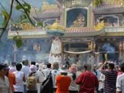 Tay Ninh: le site de Ba Den accueille son millionième touriste de l'année