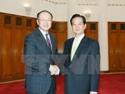Le PM Nguyen Tan Dung reçoit le président de la Banque mondiale