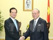 Nguyên Tân Dung reçoit le conseiller spécial de l'alliance parlementaire d'amitié Japon-Vietnam