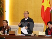 Clôture de la 45e session du Comité permanent de l'Assemblée nationale