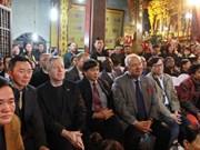 À Nam Dinh, le chau van impressionne les diplomates