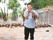 Devenu milliardaire grâce aux canards sauvages