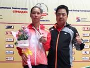 Boxe : médaille d'argent à Sofia pour le Vietnam