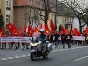 Des Vietnamiens en Allemagne protestent contre les actes de la Chine en Mer Orientale