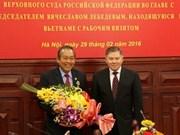 Vietnam-Russie : les Cours suprêmes renforcent leur coopération