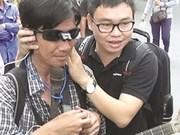 Des lunettes innovantes pour les aveugles