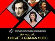 Un concert de musique allemande