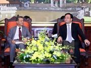 Hanoi souhaite voir le Japon renforcer ses investissements dans divers secteurs