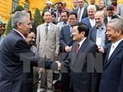 Le chef de l'Etat reçoit une délégation de la Fédération Syndicale Mondiale
