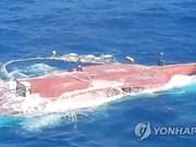 Chavirement d'un navire en R. de Corée : la dépouille d'un Vietnamien retrouvée