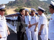 Inauguration du port international de Cam Ranh
