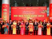 La fête nationale de la presse s'ouvre à Hanoi