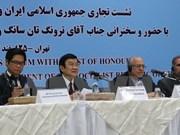 Le Vietnam souhaite accélérer sa coopération multisectorielle avec l'Iran