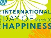 Le Vietnam coorganise la célébration de la Journée internationale du bonheur