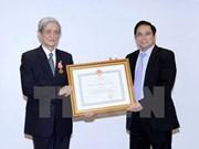 L'Ordre de l'indépendance à l'ancien directeur général de la VNA