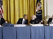 Ouverture du Sommet sur la sécurité nucléaire à Washington