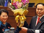 Messages de félicitations aux dirigeants vietnamiens