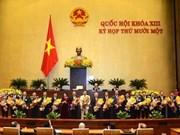 Le nouveau gouvernement est composé de 27 membres