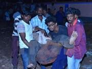 Incendie dans un temple : le Vietnam adresse ses condoléances à l'Inde