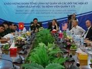 Vietnam et Etats-Unis cherchent à coopérer dans la médecine militaire