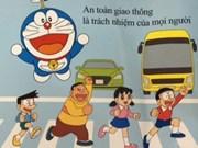 Doraemon et la sécurité routière au Vietnam