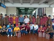 Arrêrés en Indonésie, 36 pêcheurs de plus rapatriés