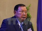 Le secrétaire général du Parti, président du Laos effectue une visite officielle d'amitié au Vietnam