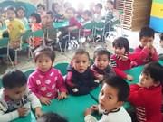 Thanh Hoa: 1,85 million de dollars pour les repas en maternelle