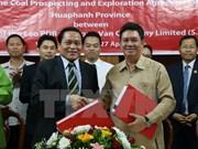 Vietnam et Laos signent un contrat d'exploitation du charbon