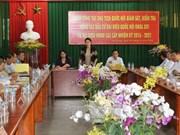La présidente de l'Assemblée nationale à An Giang