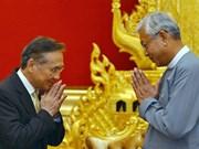 Myanmar et Thaïlande s'engagent à promouvoir leur coopération bilatérale