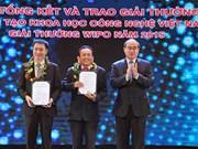 Remise des prix de création scientifico-technique du Vietnam 2015