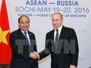 Entrevue Nguyen Xuan Phuc – Vladimir Poutine