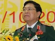 Activités du ministre vietnamien de la Défense au Laos