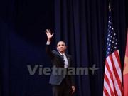 Le président américain termine sa visite au Vietnam