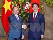 Entretien entre les Premiers ministres vietnamien et japonais