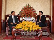 HCM-Ville et Attopeu (Laos) renforcent leur coopération multidisciplinaire