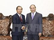 Le ministre laotien de la Justice reçu par Nguyen Xuan Phuc